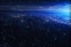 3d rendering, the magnificent spiral nebula. The universe background. Computer digital background galaxy space blue abstract color sky fantasy black colorful royalty free stock photography