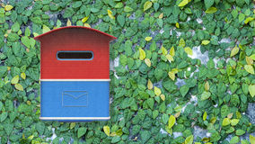 3d rendering mailbox with nice background image Royalty Free Stock Photos