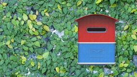3d rendering mailbox with nice background image Royalty Free Stock Images