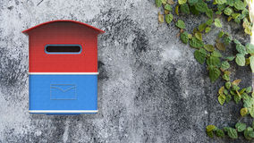 3d rendering mailbox with nice background image Royalty Free Stock Image