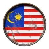 Old Malaysia flag Stock Photos