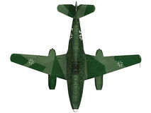3d Rendering of a ME262. 3d Rendering of a German World War 2 era ME262 Royalty Free Stock Image