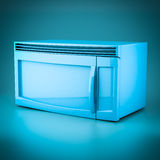 3D rendering microwave Stock Photography