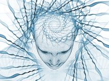 The Meditations on Mind Stock Images
