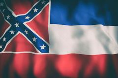 Mississippi State flag Stock Photos