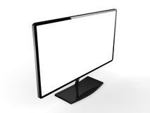 3D rendering modern TV Royalty Free Stock Image