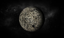3D-rendering of Moon.Extremely detailed image including elements. Royalty Free Stock Photos