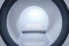Mri scan machine Royalty Free Stock Image