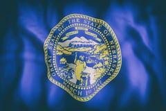 Nebraska State flag Royalty Free Stock Images