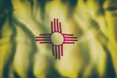 New Mexico State flag Royalty Free Stock Photos