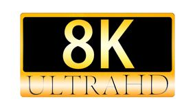 3d rendering of nice view of Ultra HD 8K ICON Stock Images
