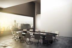 3D rendering nowożytny biuro royalty ilustracja
