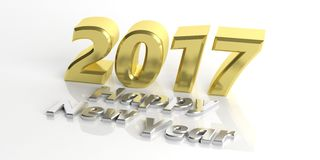 3d rendering 2017 number Stock Images