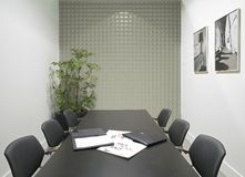 3d rendering of the office room Royalty Free Stock Image