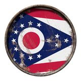 Old Ohio flag Royalty Free Stock Image
