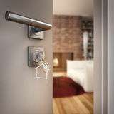 3D Rendering open home door Stock Photography