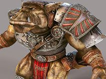 3D rendering Orc Royalty Free Stock Photography