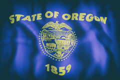 Oregon State flag Stock Image