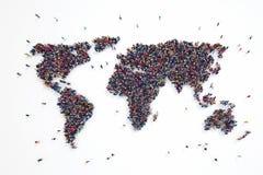 3D rendering of people world vector illustration