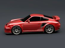 Porsche Carrera 911 GT RS2 Royalty Free Stock Images