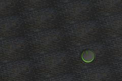 3d rendering of power button icon with nice background Royalty Free Stock Image