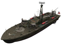 3d Rendering of a PT Boat Royalty Free Stock Photography