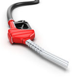 3D rendering refueling nozzle Stock Photography