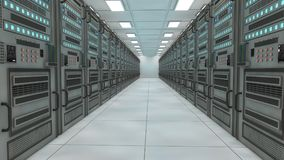 Render farm concept Royalty Free Stock Image