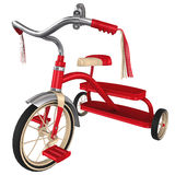 3d Rendering of a Retro Tricycle Royalty Free Stock Photo