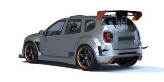 3D rendering - rodzajowy pojęcie samochód Obraz Royalty Free