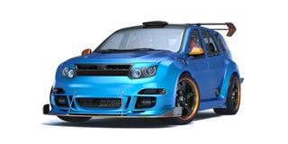 3D rendering - rodzajowy pojęcie samochód Zdjęcia Royalty Free