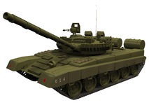 3d Rendering of a Russian T80 Tank Stock Photos