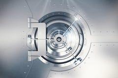 3D Rendering safe door Royalty Free Stock Image