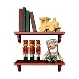 3D Rendering Shelf with Toys on White Royalty Free Stock Image