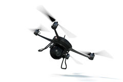 3D Rendering of a Small Drone royalty free stock image