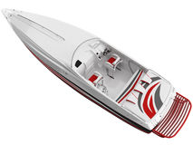 3d Rendering of a Speed Boat Stock Photography