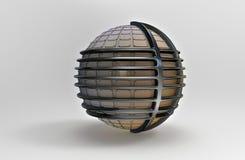 3D rendering. Sphere Stock Image