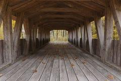 3d rendering stary zakrywający drewniany most przed lasem royalty ilustracja