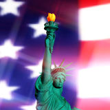 3D Rendering of the Statue of Liberty Royalty Free Stock Photos