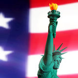 3D Rendering of the Statue of Liberty Stock Images