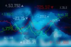 2d rendering Stock market online business concept. business Graph background. Business Stock Market background, Forex Background, 2d rendering Stock market Stock Photo
