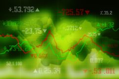 2d rendering Stock market online business concept. business Graph background. Business Stock Market background, Forex Background, 2d rendering Stock market Royalty Free Stock Photo
