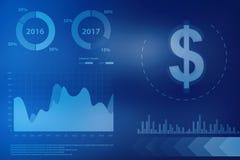 Stock market chart. Business graph background. 2d rendering Stock market online business concept. business Graph,Stock market chart. Business graph background Stock Photos