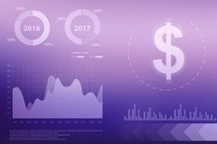 Stock market chart. Business graph background. 2d rendering Stock market online business concept. business Graph,Stock market chart. Business graph background Royalty Free Stock Photography