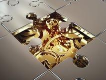 3D rendering systemu współpraca obraz stock