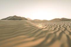 3d rendering szeroka pustynia z lampasami, kszta?tuje ilustracji