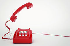 3D rendering telephone Stock Images