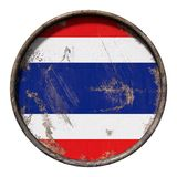 Old Thailand flag Royalty Free Stock Photography