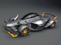Tramontana R supercar concept Royalty Free Stock Images