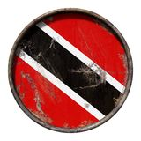 Old trinidad and Tobago flag Stock Images